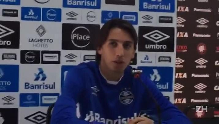 Geromel fala sobre a expectativa de enfrentar o Corinthians