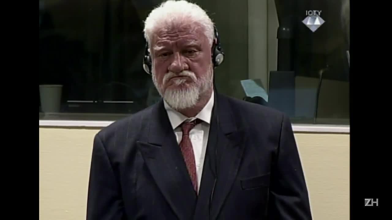 Ex-líder croata morre após tomar veneno em tribunal