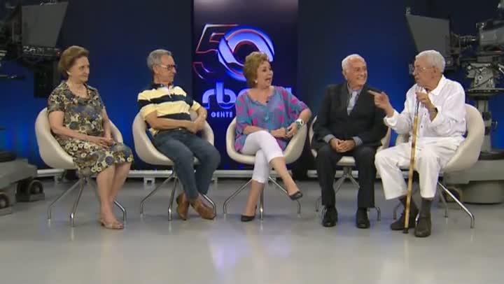 Veteranos relembram histórias na RBS TV