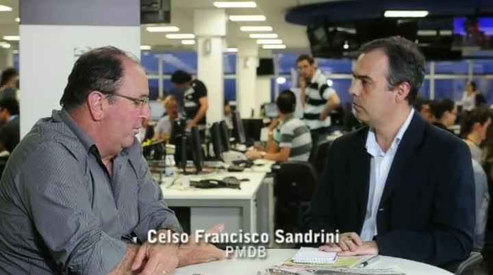 Vereadores eleitos da Capital - Entrevista com Celso Francisco Sandrini