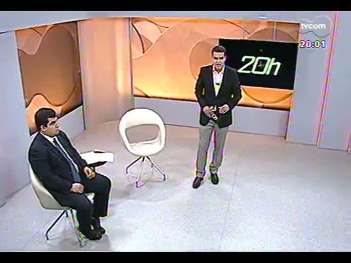 TVCOM 20 Horas - 17/01/2013 - Bloco 1 - Assalto à joalheria Coliseu, no shopping Praia de Belas