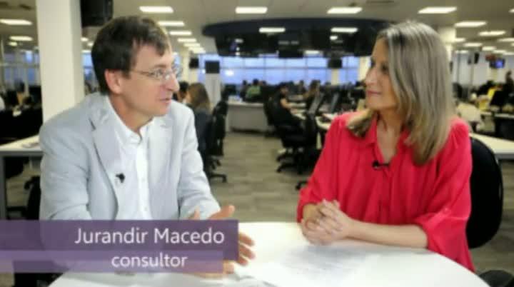 Quadro Estela Entrevista com Jurandir Sell Macedo