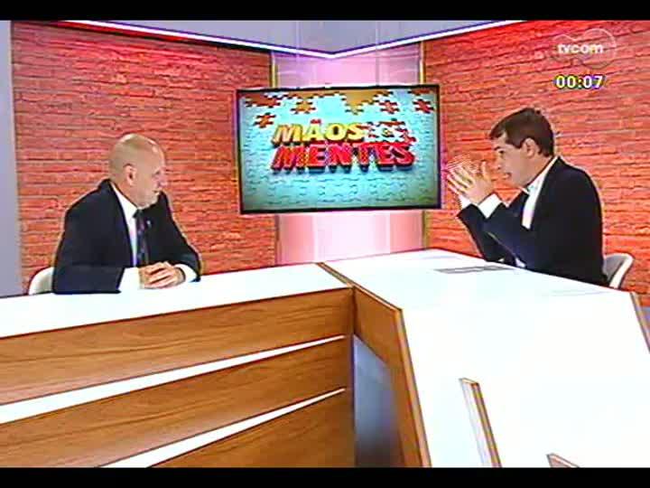 Mãos e Mentes - Palestrante, professor e doutor em Comunicação Dado Schneider - Bloco 4 - 22/01/2013
