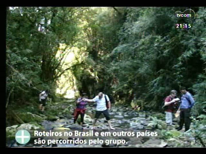 TVCOM Tudo Mais - Projeto Esportes TVCOM: Eco caminhantes