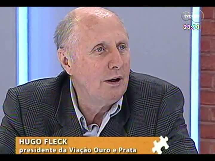 Mãos e Mentes - Presidente da Viação Ouro e Prata Hugo Fleck - Bloco 3 - 01/04/2013