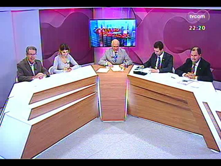 Conversas Cruzadas - Trocas no ministério da Dilma Rousseff, Reforma Política e situação financeira do Estado - Bloco 2 - 05/04/2013