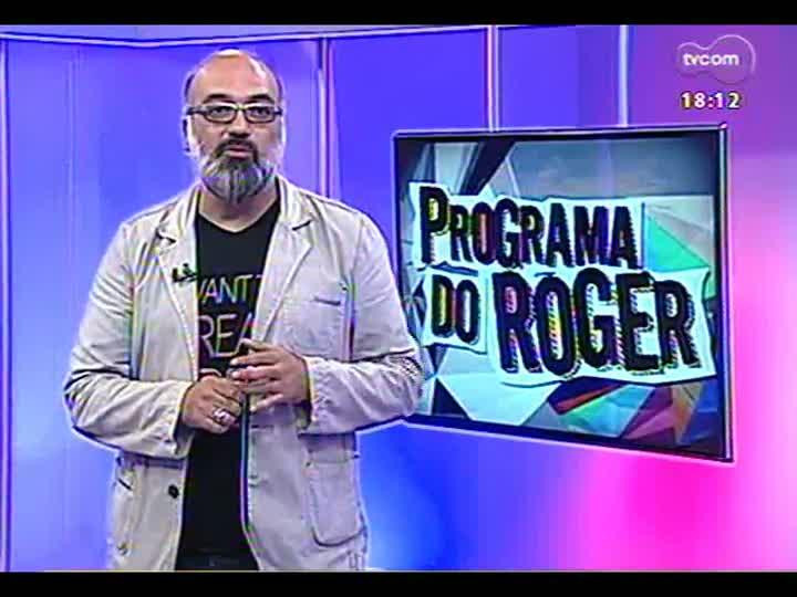 Programa do Roger - Confira o bailaor Farruquito, que apresenta dança flamenca em Porto Alegre - bloco 3 - 05/04/2013