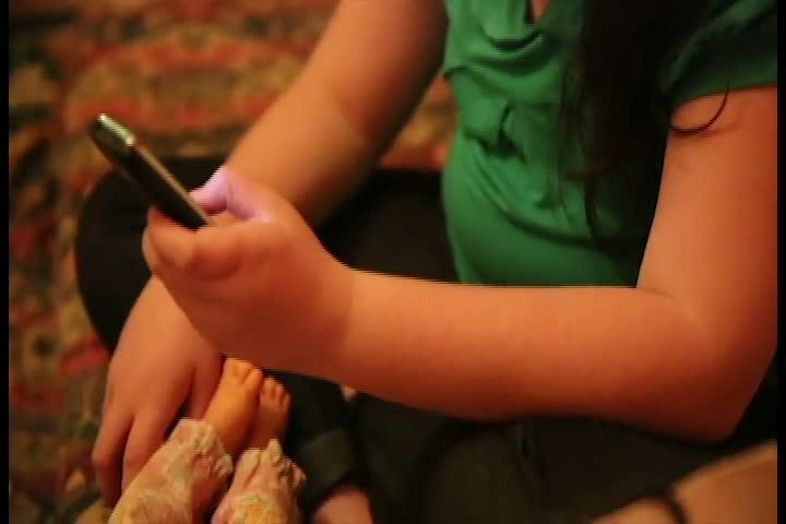 Criança com autismo e surda