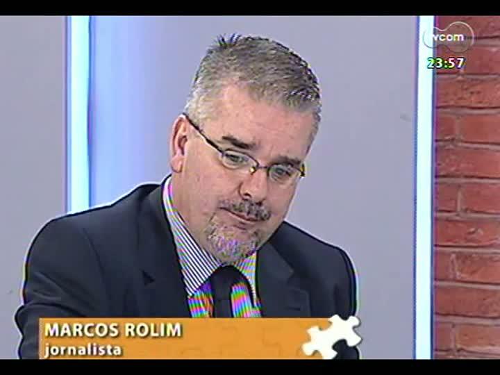 Mãos e Mentes - Diretor de comunicação do Tribunal de Contas do RS, Marcos Rolim - Bloco 3 - 16/04/2013