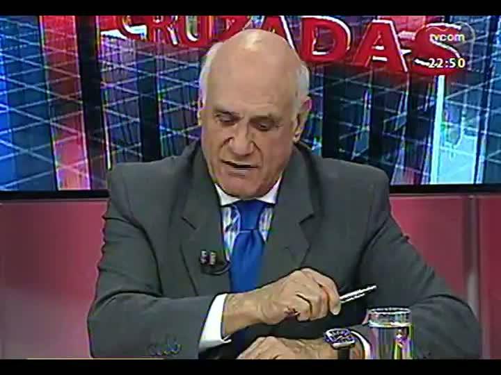 Conversas Cruzadas - As circunstâncias dos crimes e o perfil do assassino confesso dos seis taxistas - Bloco 3 - 15/04/2013