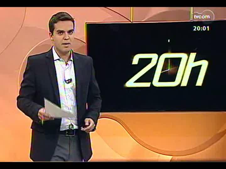TVCOM 20 Horas - COPOM eleva a taxa Selic para 7,5% ao ano - Bloco 1 - 17/04/2013