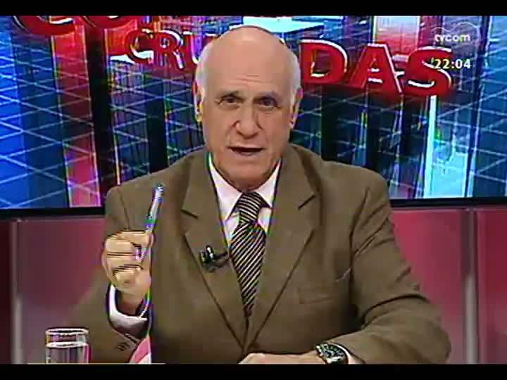 Conversas Cruzadas - Qual o resultado pratico das grandes operações da Polícia Federal e do Ministério Público Federal? - Bloco 1 - 06/05/2013