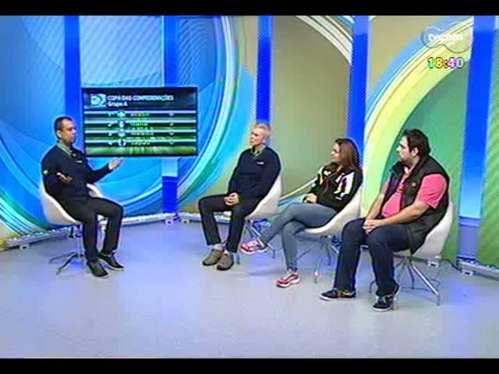 Fanáticos TVCOM - Luiz Alano e convidados repercutem a vitória de Brasil 2 x 0 México na Copa das Confederações - bloco 3 - 19/06/2013