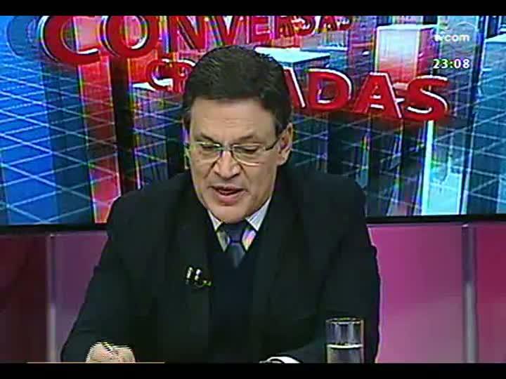 Conversas Cruzadas - Político e professor debatem a necessidade de um plebiscito para reforma política - Bloco 4 - 02/07/2013