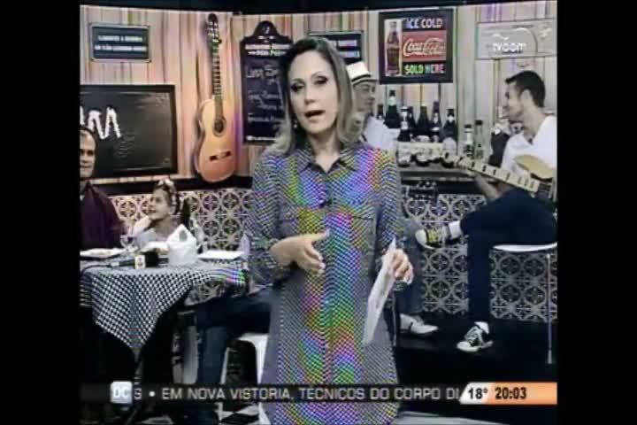 TVCOM Tudo Mais - Quadro Agenda Cultural e a transferência da Blitz da Educação - 1º Bloco - 09-08-2013