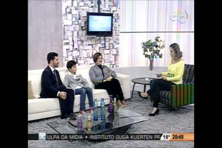 TVCOM Tudo Mais - Planejamento financeiro para crianças - 3º Bloco-12-08-2013