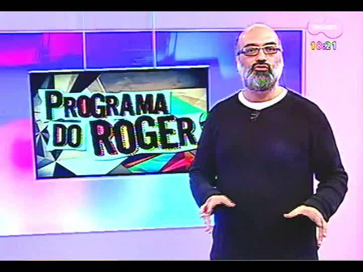 Programa do Roger - Curta \'Malária\' e clipe de El Negro - bloco 4 - 15/08/2013