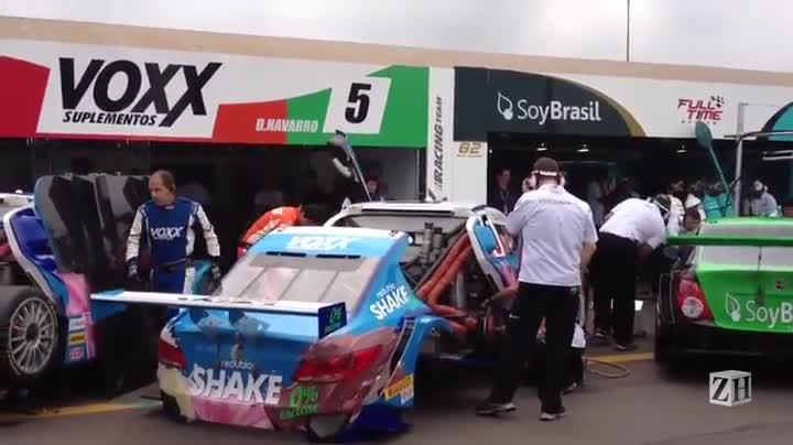 Stock Car: movimentação nos boxes antes da prova