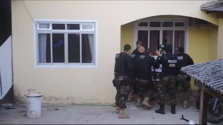 Operação da Polícia Civil em Palhoça captura ladrões de carros na madrugada de terça-feira