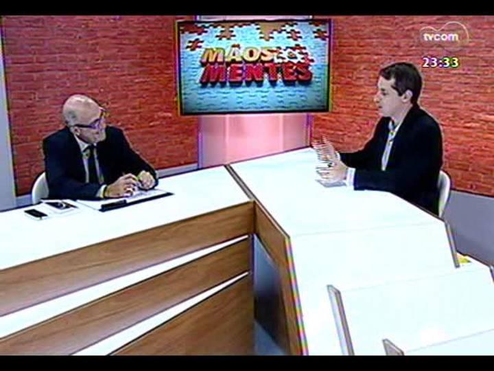 Mãos e Mentes - Ivan Pinheiro Machado, um dos fundadores da L&PM Editores - Bloco 1 - 09/12/2013