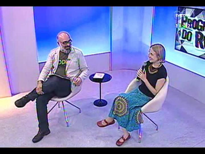 Programa do Roger - Atriz Marta Haas fala sobre a pe�a \'Medeia Vozes\' - Bloco 3 - 18/12/2013