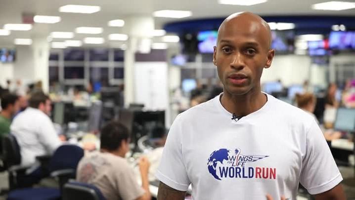 Fabiano Moraes também sabe da agenda esportiva: no próximo domingo tem Wings For Life World Run