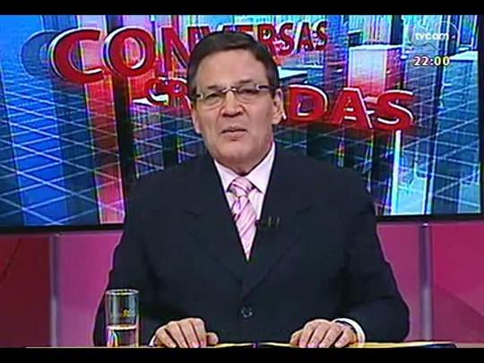 Conversas Cruzadas - Debate sobre o direito eleitoral e eventuais mudanças para as eleições de outubro - Bloco 1 - 25/04/2014