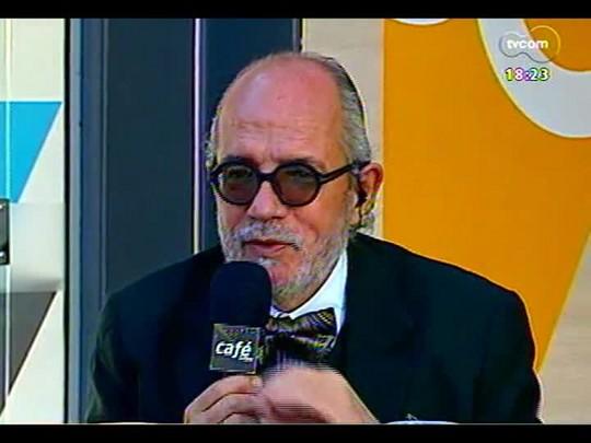 Café TVCOM - Conversa sobre literatura, diretamente da Estação ZH - Bloco 2 - 17/05/2014