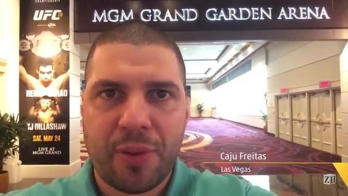No Mundo das Lutas: Renan Barão deve ter apoio de muitos brasileiros em Las Vegas neste sábado