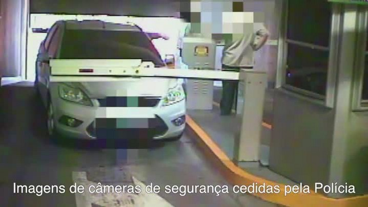 Imagens mostram ação de criminosos em ataque a carro-forte dentro de supermercado