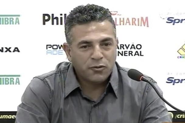 TVCOM Esportes - Luizinho Vieira fala sobre planos para 2015 como novo técnico do Criciúma - 19.12.14
