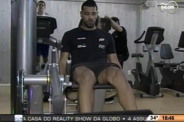 TVCOM Esportes - André Santos comenta negociação para sua volta ao Figueirense - 14.1.15