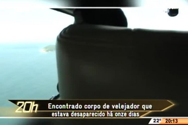 TVCOM 20 Horas - Encontrado corpo de velejador que estava desaparecido há onze dias -16.04.15