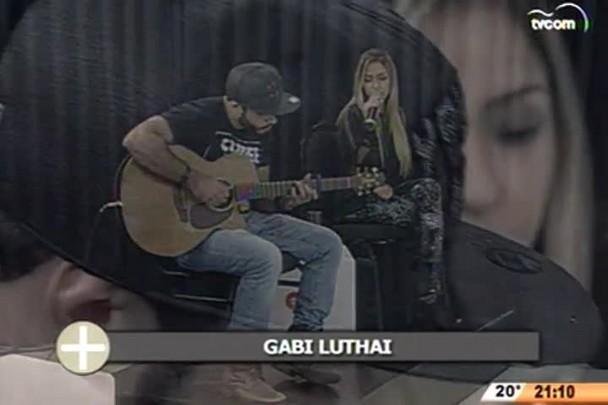 TVCOM Tudo+ - Bate Papo MÚSICA - Cantora Gabi Luthai conquista fãs com clipes na internet - 04.06.15