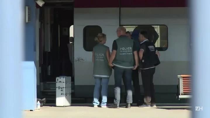 Os heróis que evitaram o ataque ao trem