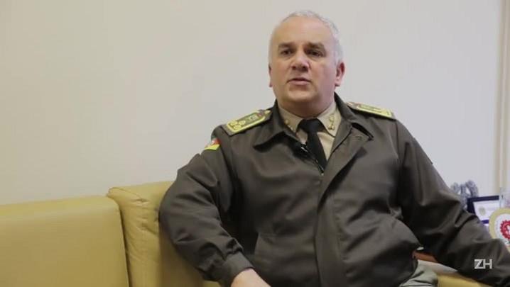 Comandante defende revisão e nega ter ocorrido despromoção