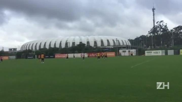 Argel encaminha Inter que enfrenta o São Paulo-RG