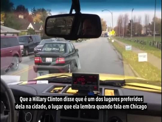 Repórter do DC vai em busca do sanduíche preferido de Hillary Clinton em Chicago