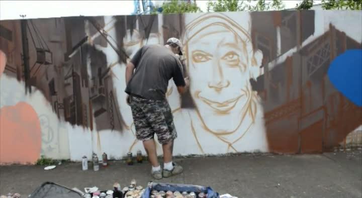 Graffiti em Itajaí