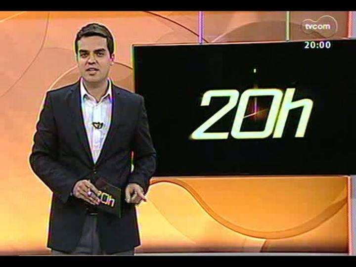 TVCOM 20 Horas – Recuperação dos feridos da tragédia em Santa Maria – Bloco 1 – 01/02/2013