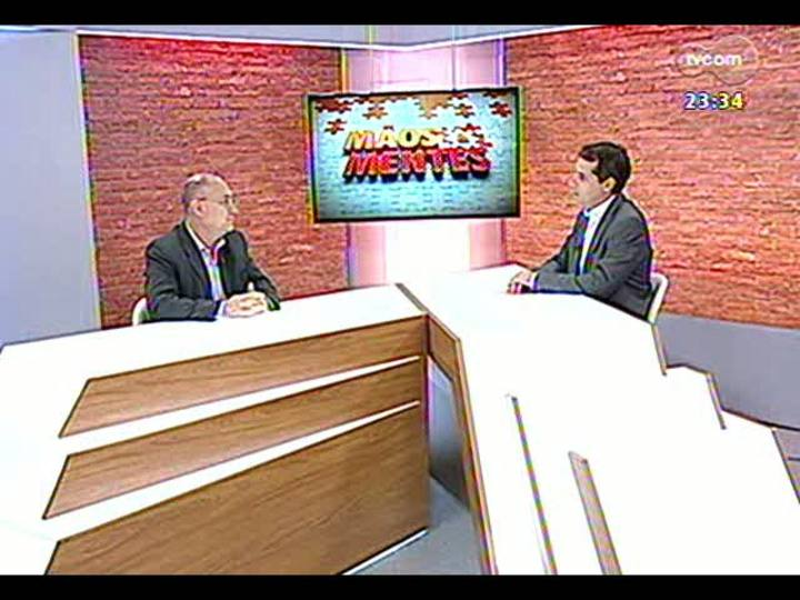 Mãos e Mentes - Presidente do Eckart, Paulo Ricardo Silva Ferreira - Bloco 1 - 13/02/2013