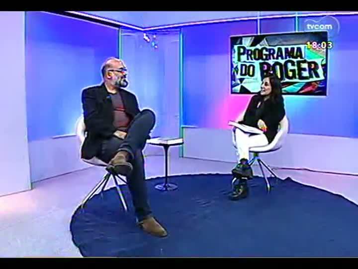 Programa do Roger - Exposição de William Kentridge em Porto Alegre - bloco 1 - 05/03/2013