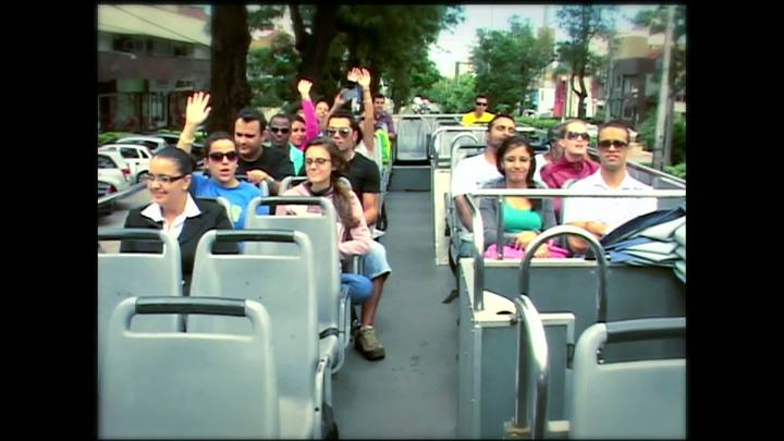 Porto da Copa - Curso de qualificação num ônibus de turismo - Bloco 1 - 30/03/2013