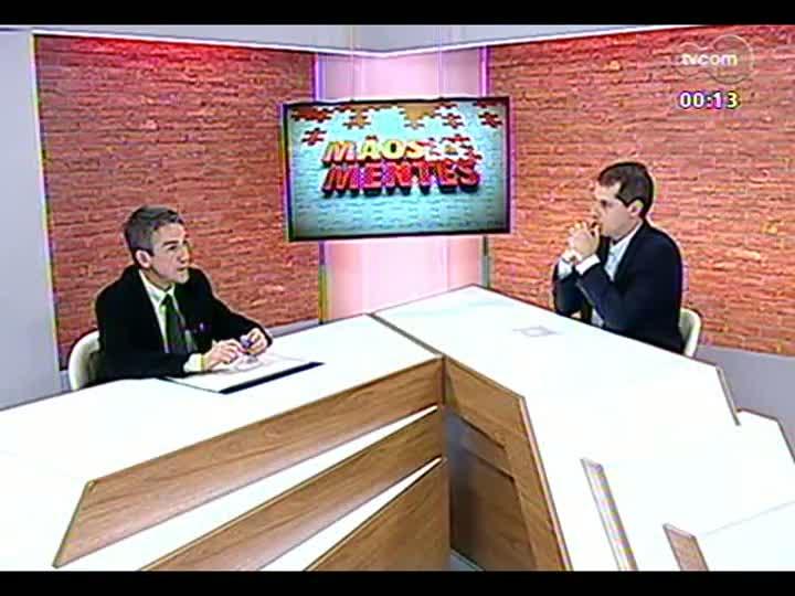Mãos e Mentes - Diretor da Sociedade Brasileira de Traumatologia no Esporte, Fábio Krebs - Bloco 4 - 03/07/2013