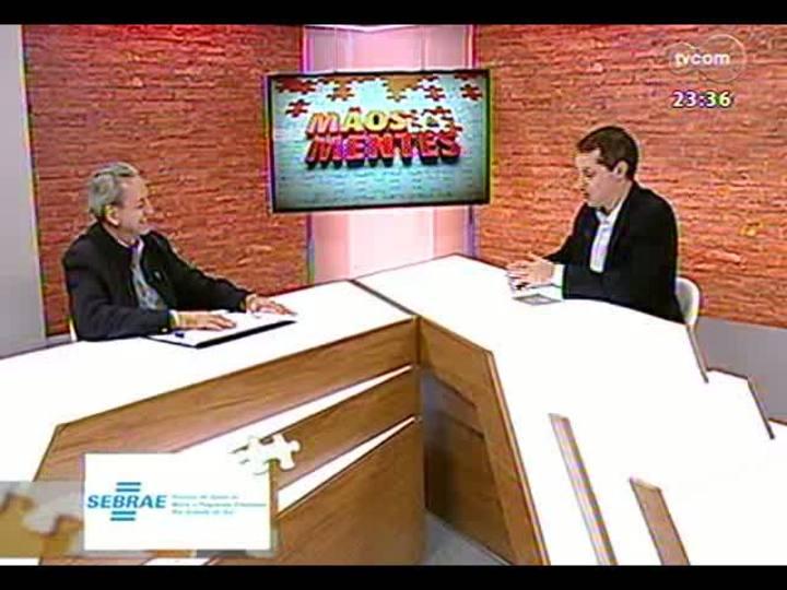 Mãos e Mentes - Rogério Kerber, diretor executivo do Sindicato da Indústria de Produtos Suínos - Bloco 1 - 09/07/2013