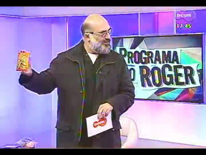 Programa do Roger - Confira o trabalho dos músicos Jussara Silveira e Sacha Amback - bloco 1 - 31/07/2013