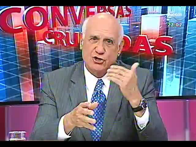 Conversas Cruzadas - Debate sobre o atraso nas obras da Copa - Bloco 1 - 01/10/2013