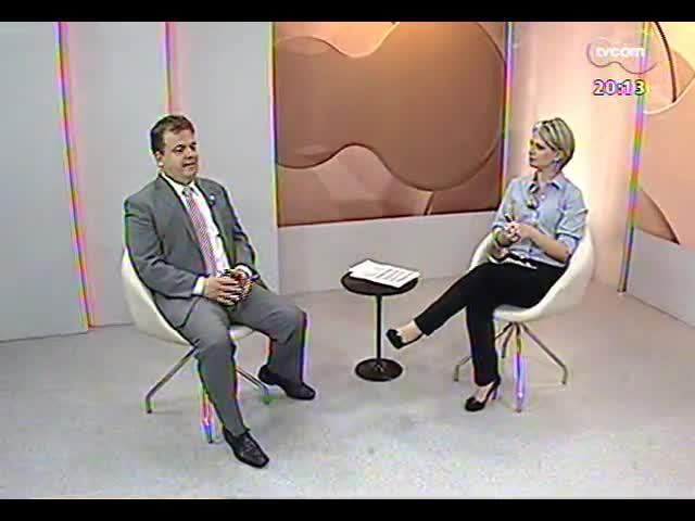 TVCOM 20 Horas - \'Soltos para o crime\': entrevista com o defensor público Alvaro Fernandes - Bloco 2 - 16/10/2013
