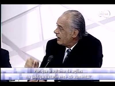 Conversas Cruzadas - Processos na justiça de SC - 4º bloco – 17/10/2013