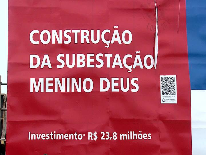 Porto da Copa - Saiba como está o andamento da construção da Subestação de Energia Elétrica Menino Deus - Bloco 1 - 30/11/2013